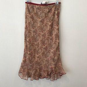 Jonathan Martin Paisley skirt
